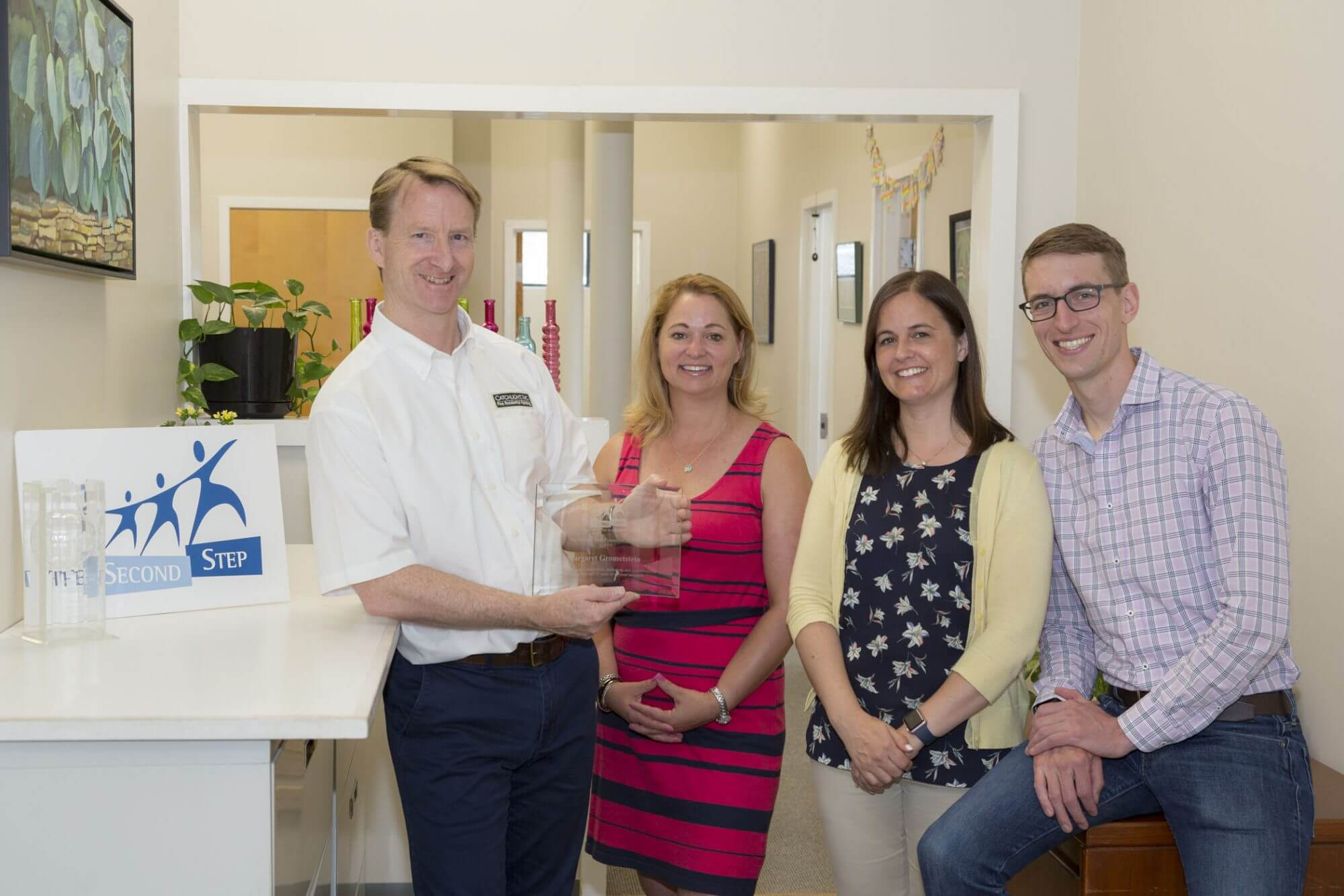 Catchlight Receives Founder's Award from The Second Step