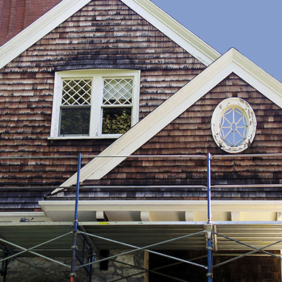 historic wood siding restoration