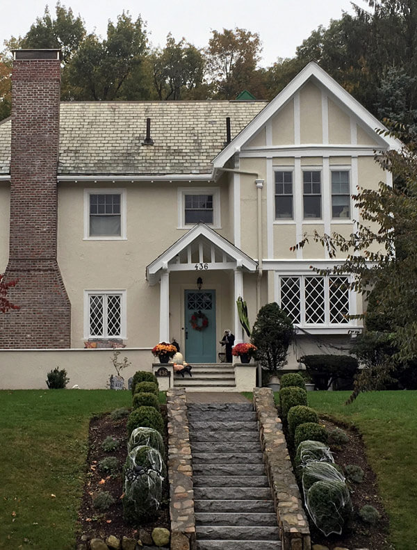 Historic home in Newton MA