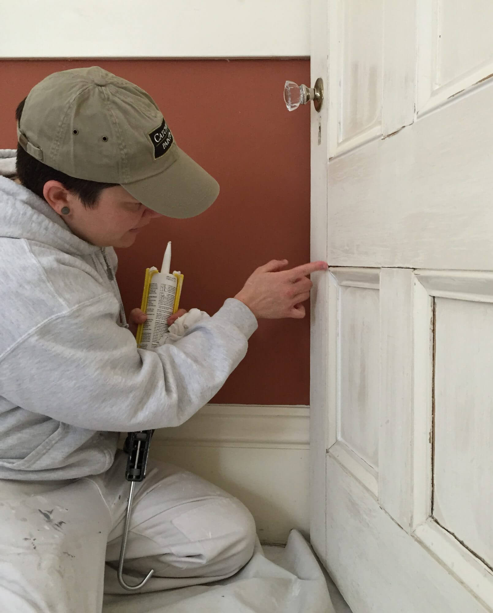 experienced house painter