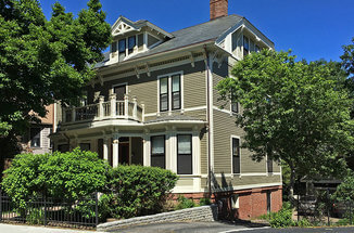 Historic Home Freshly Painted by Catchlight Painters in the Boston Area