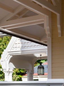 Porch exterior gothic victorian house