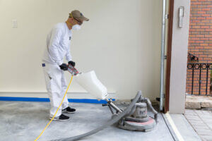 Epoxy Floor Coating Process