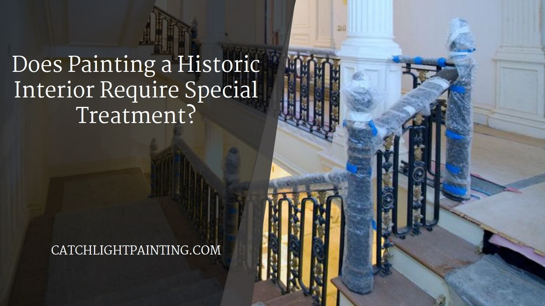 Does Painting a Historic Interior Require Special Treatment?
