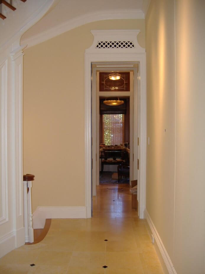 interior Wellesley house painting project