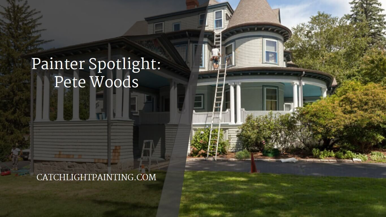 pete woods painter spotlight catchlight painting