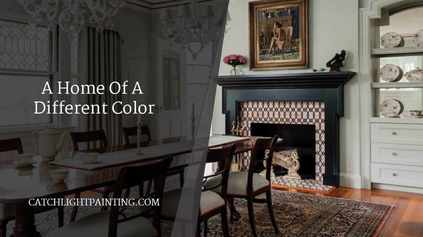 1. historic home with black lacquer