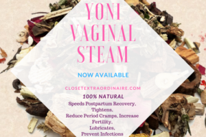 Yoni Vaginal Steam Label