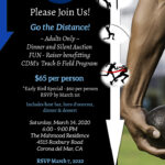 *RSVP OPEN*  Go the Distance! Dinner & Silent Auction