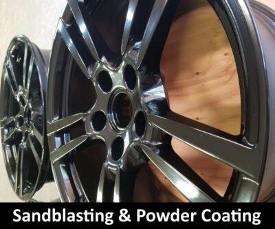 Powder Coating and Sandblasting