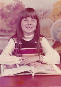 Katy at age 8