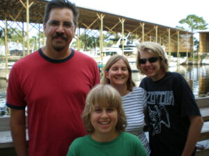 Katy's family