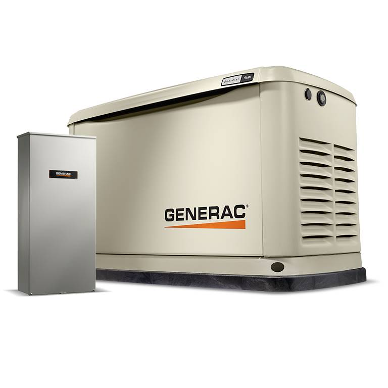Guardian Home Backup Generator with 16-circuit Transfer Switch WiFi-Enabled