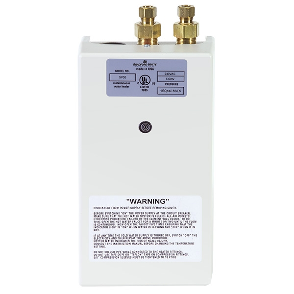 Bradford White Electric Tankless Water Heaters