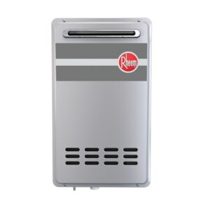 Rheem Mid Efficiency Outdoor Tankless Water Heater