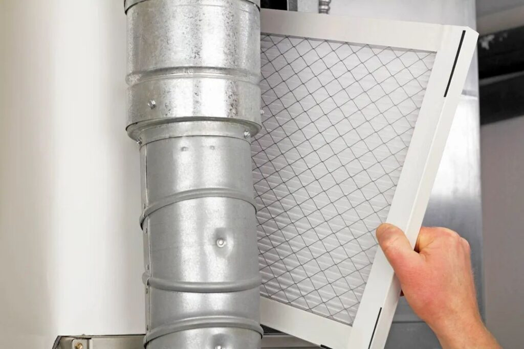Clean or Replace Furnace Filter