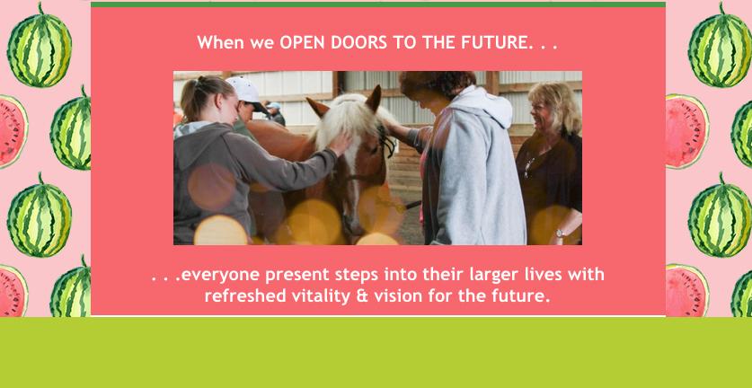 Open Doors to the Future