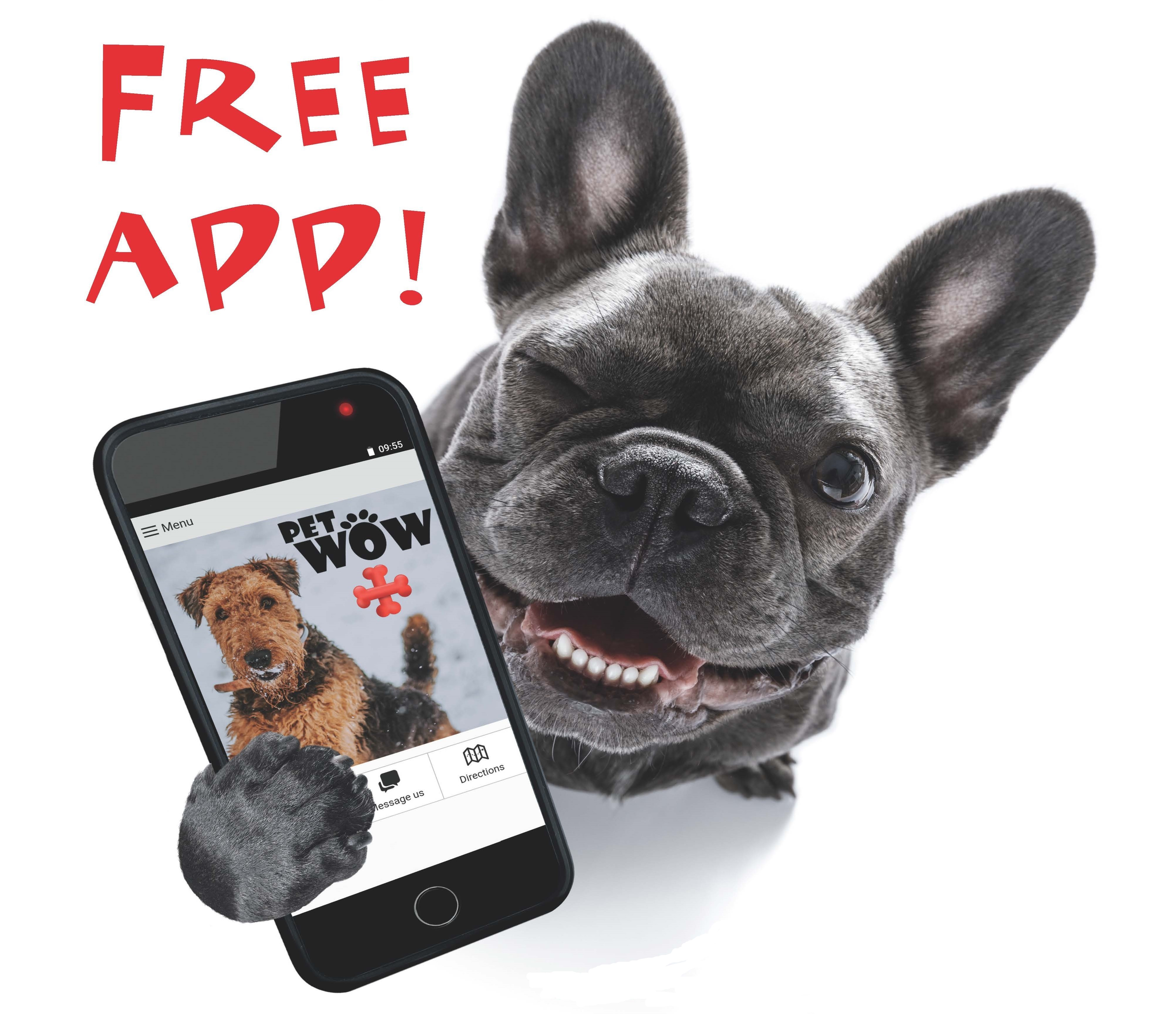 Free Mobile App - PetWow