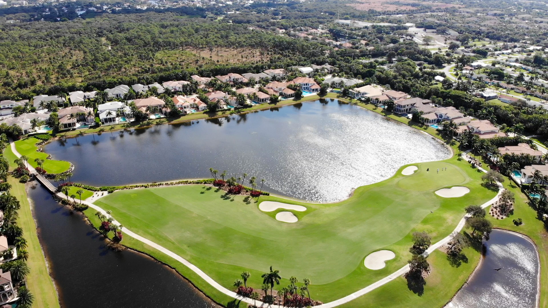 aerial photo of Frenchman's Reserve by DVK Designs Drone Services