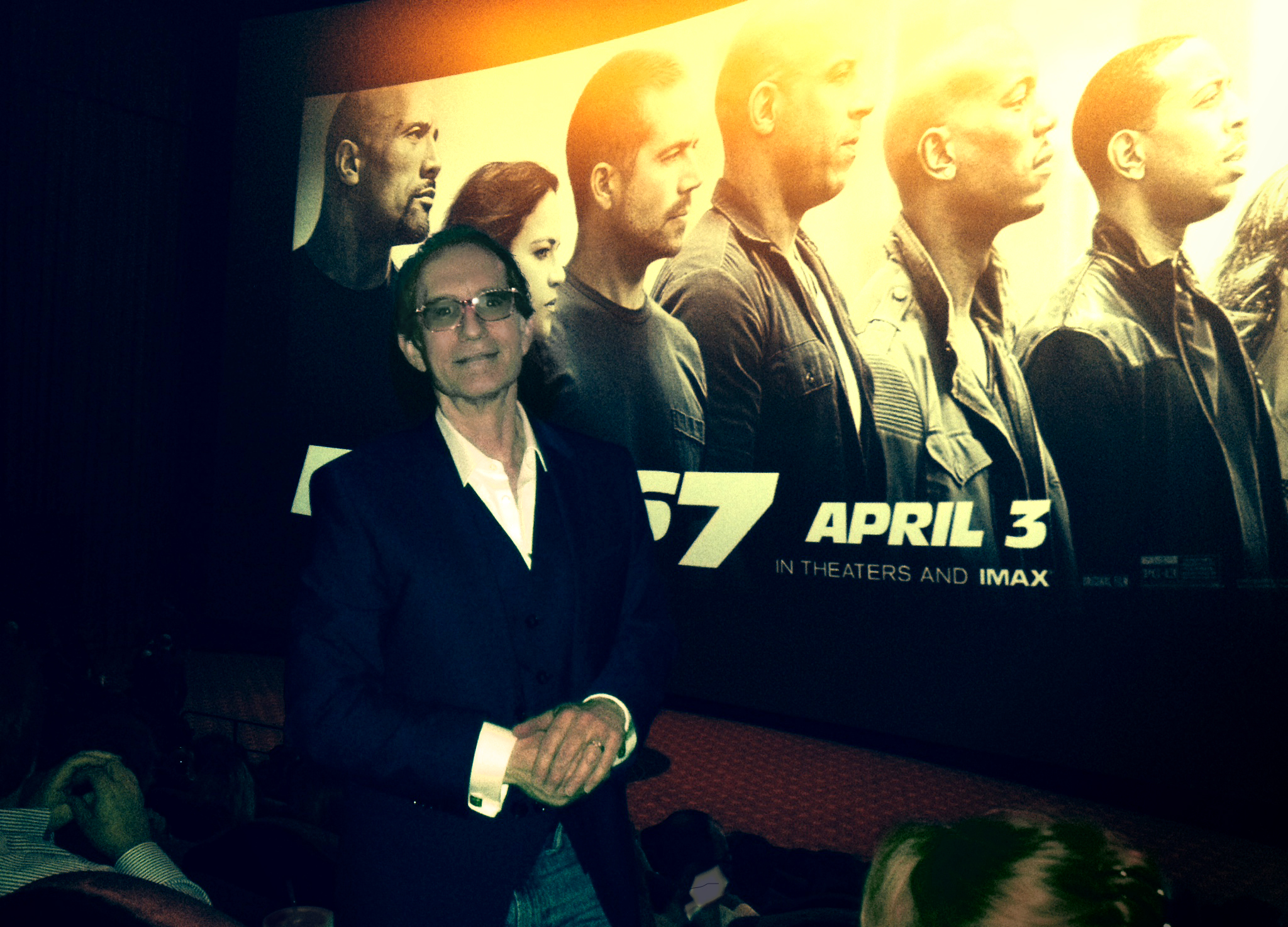 At the Fast 7 Premiere