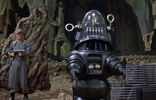 ROBBY THE ROBOT CRUSHES IT