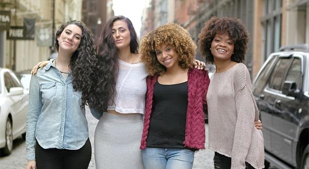 A Community of Curls Image