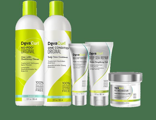 DevaCurl Healthy Hair Products