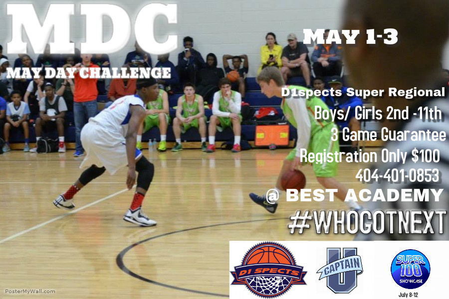 MAY DAY CHALLENEG (MDC) May 1st-3rd @ BEST ACADEMY