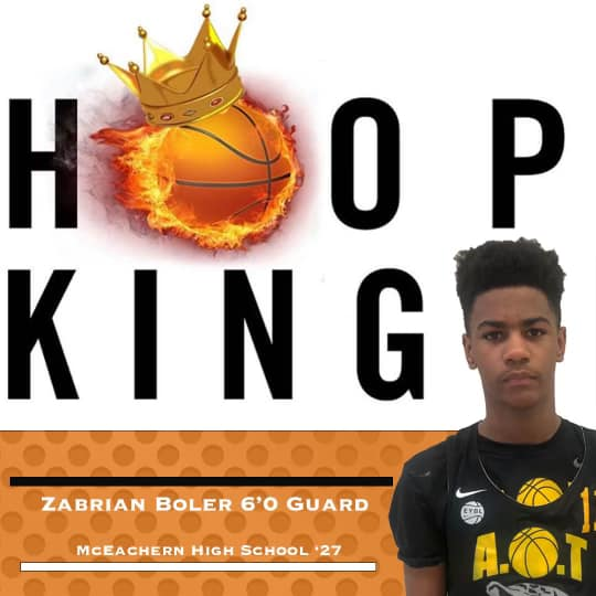 Georgia Stars Pre-Invitational Hoop Kings MVPS