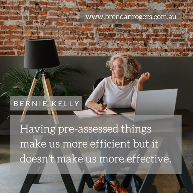 More Efficient or More Effective