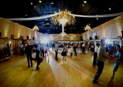 Dancing at the Ambassador Ballroom