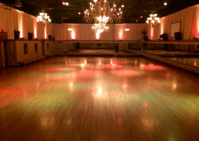 Lighting effects Ambassador Ballroom