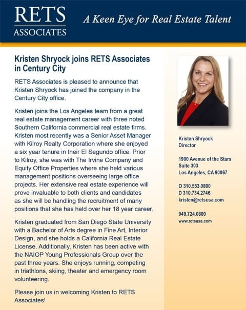 Announcement_Kristen-Shryock 2014