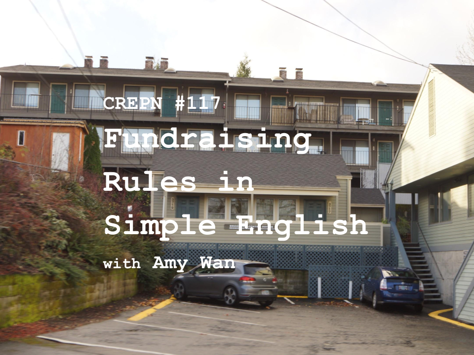CREPN #117- Fundraising Rules in Simple English with Amy Wan