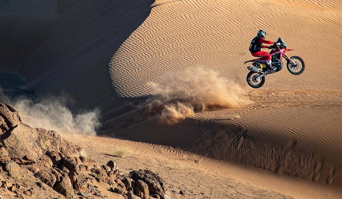 Ricky Brabec at the Dakar Rally