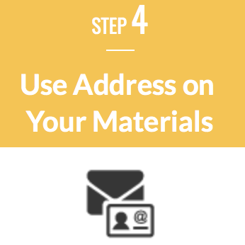Use Address on Materials