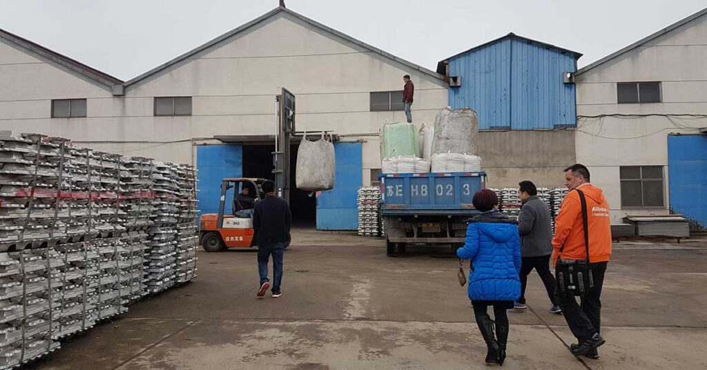 Factory Visit in Wujian China