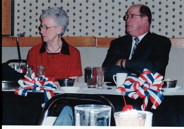 Karen Christner & NCMDR Ed Kemp 05-06