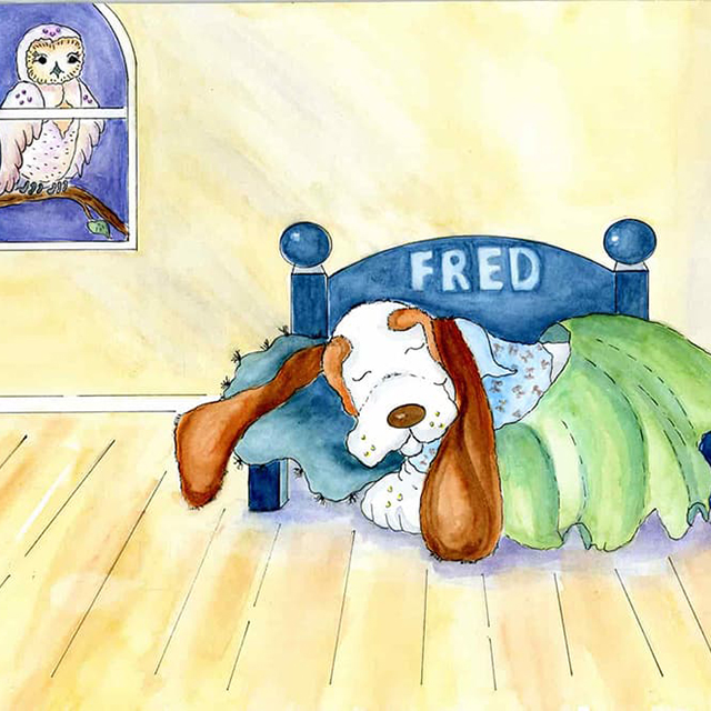 Fred In Bed