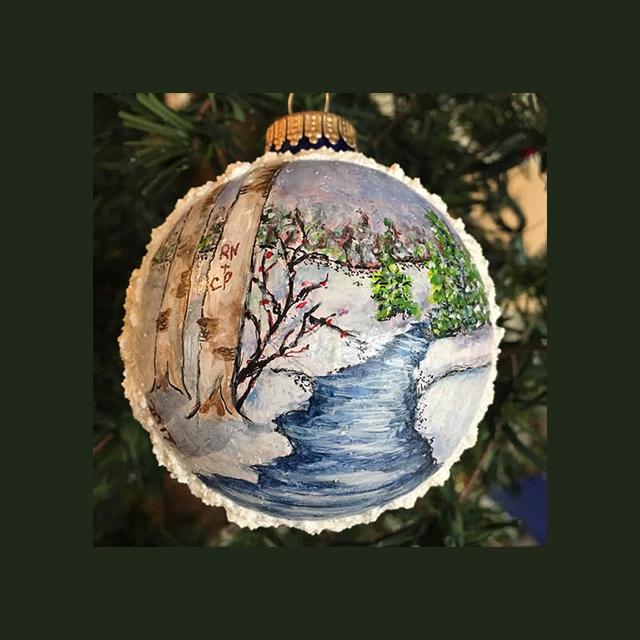 Nature Xmas Ornament