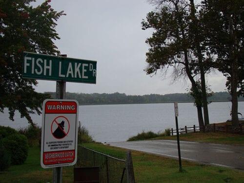 Big Fish Lake Public Access