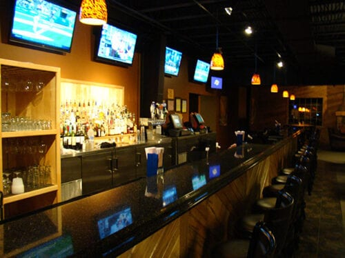 The bar at the rock