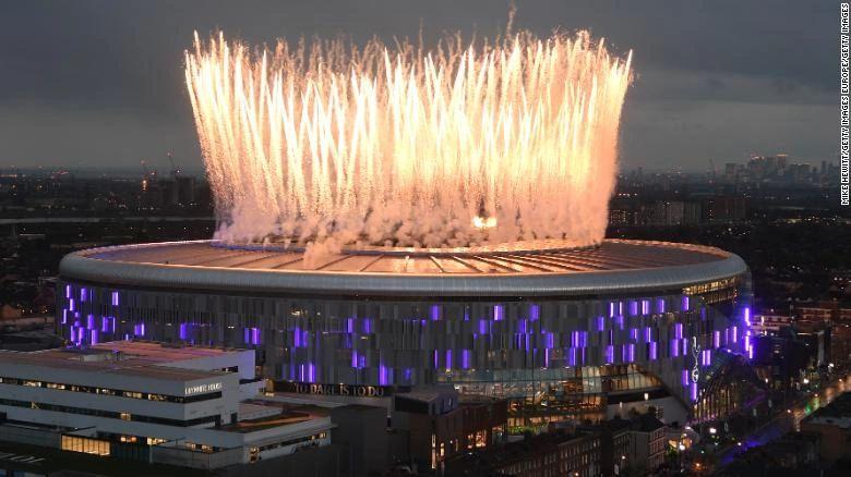 Tottenham's new NFL-ready arena boasts Europe's longest beer bar