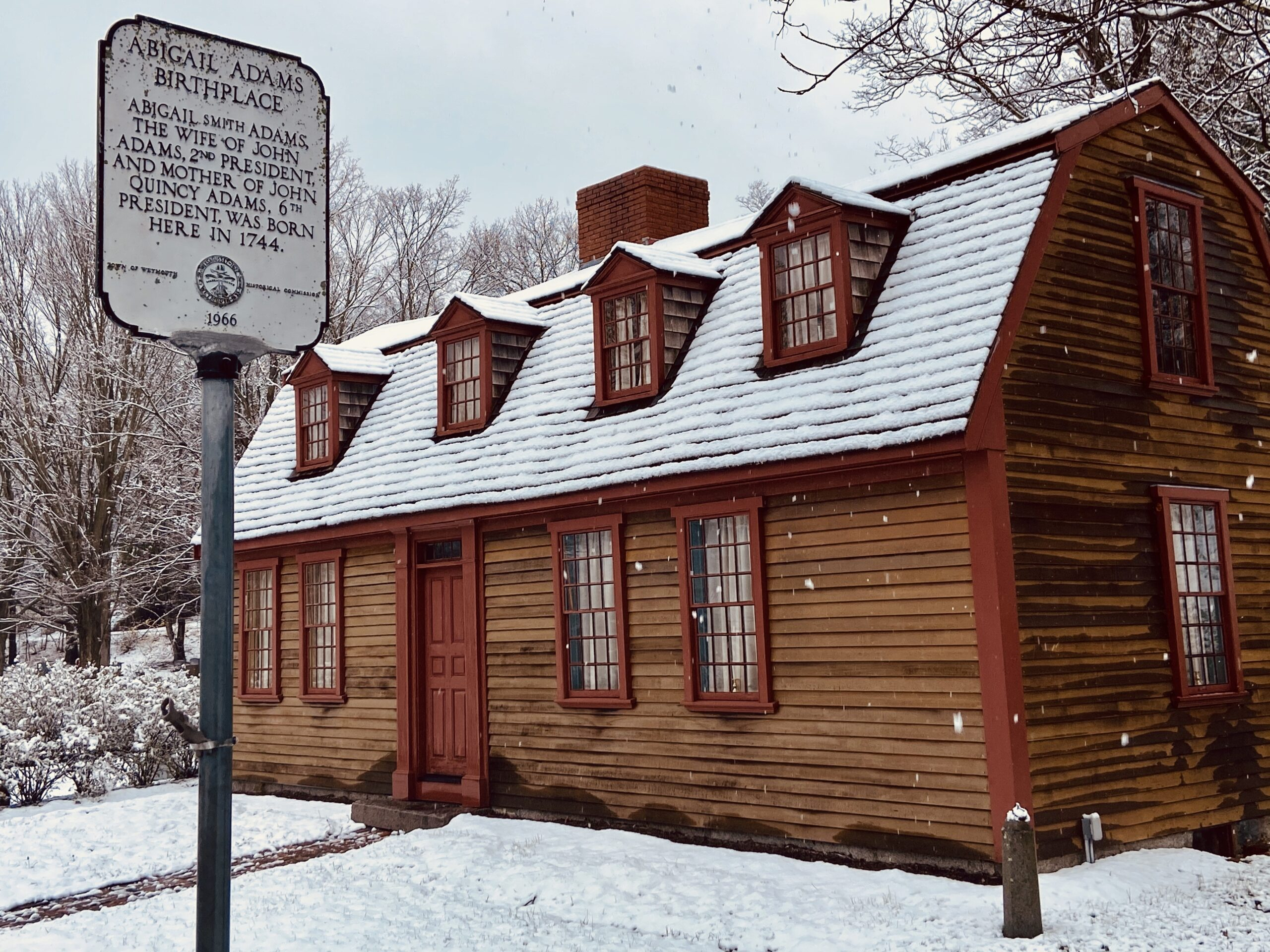 A Patriots Day tour through the life of the amazing Abigail Adams