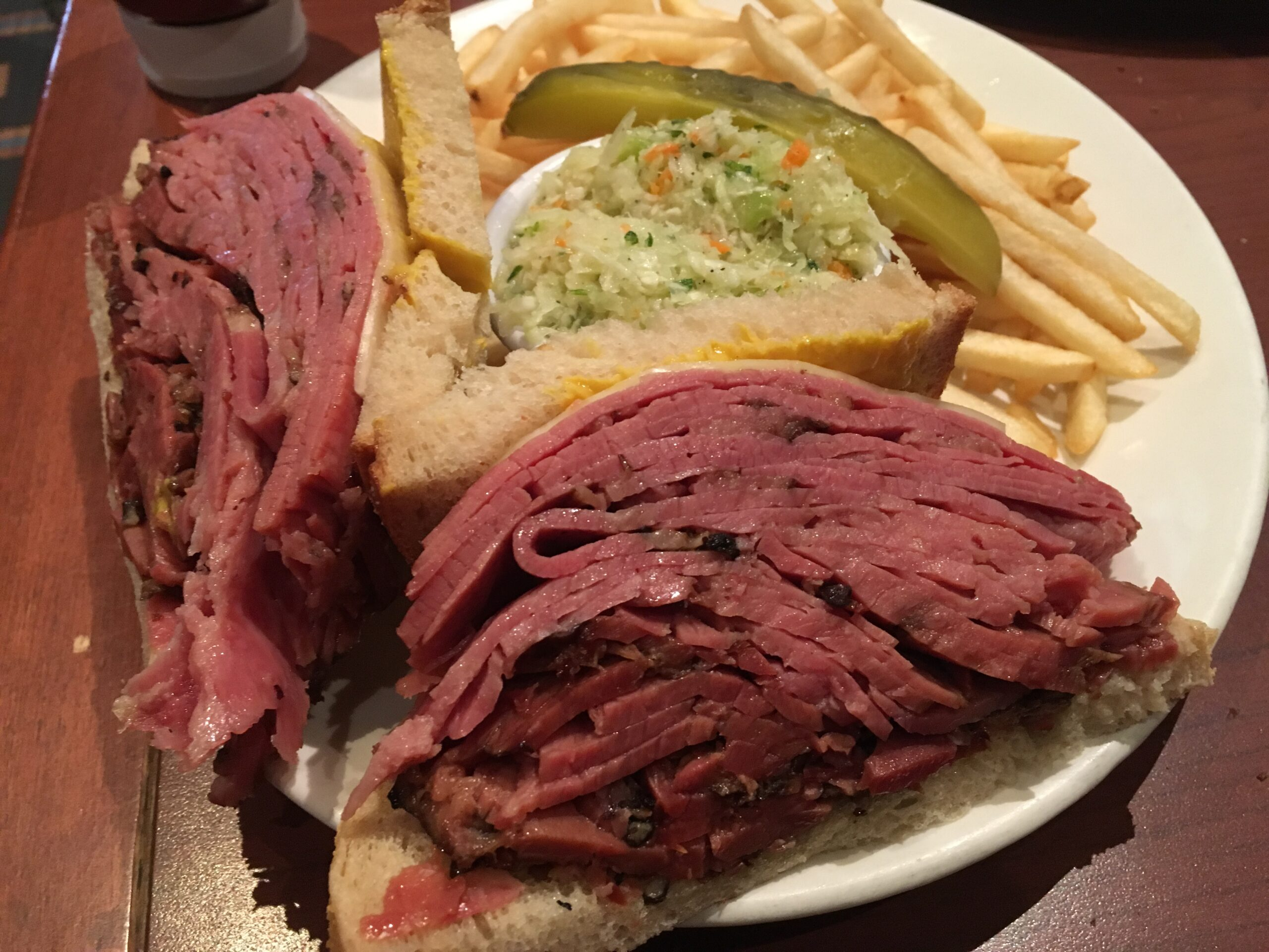 Oh my! Montreal smoked meat at Reuben's Deli & Steakhouse