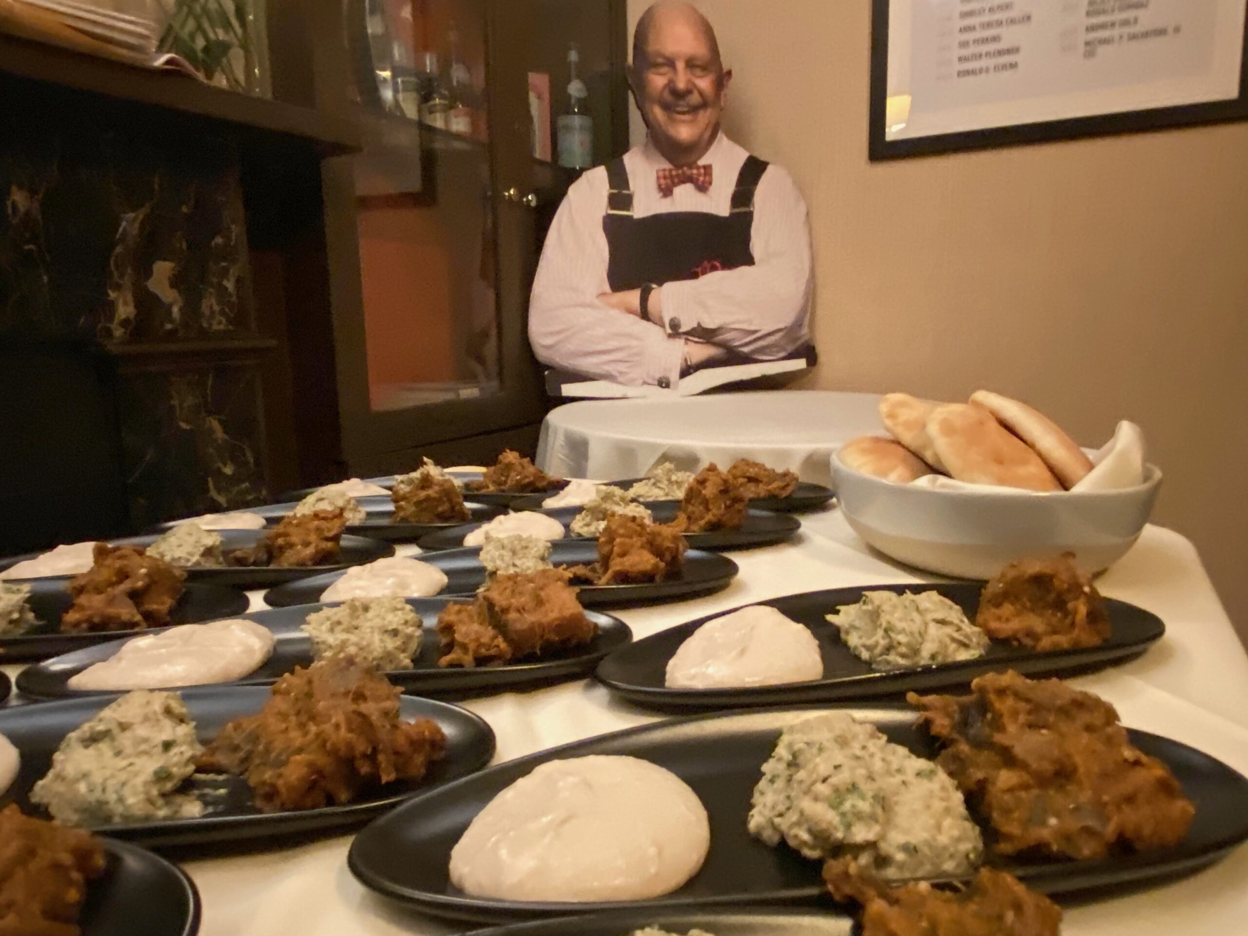 Behind the scenes at the regal James Beard House in Manhattan with Chef Avi Shemtov
