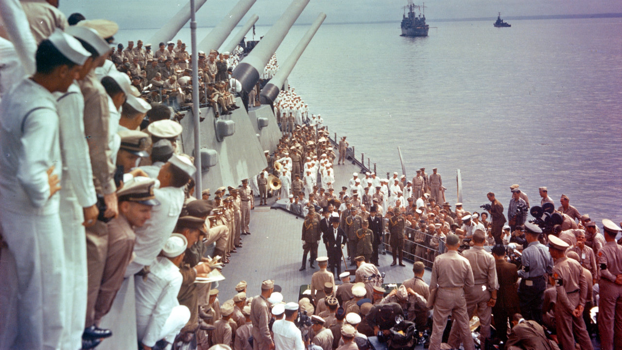 Imperial Japan surrendered 75 years ago today – and my historic hometown led the way