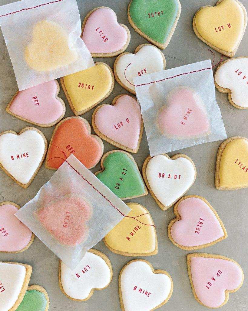 Martha Stewart Valentines Cookies