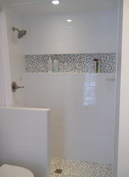 Hortizontal Shower Niche