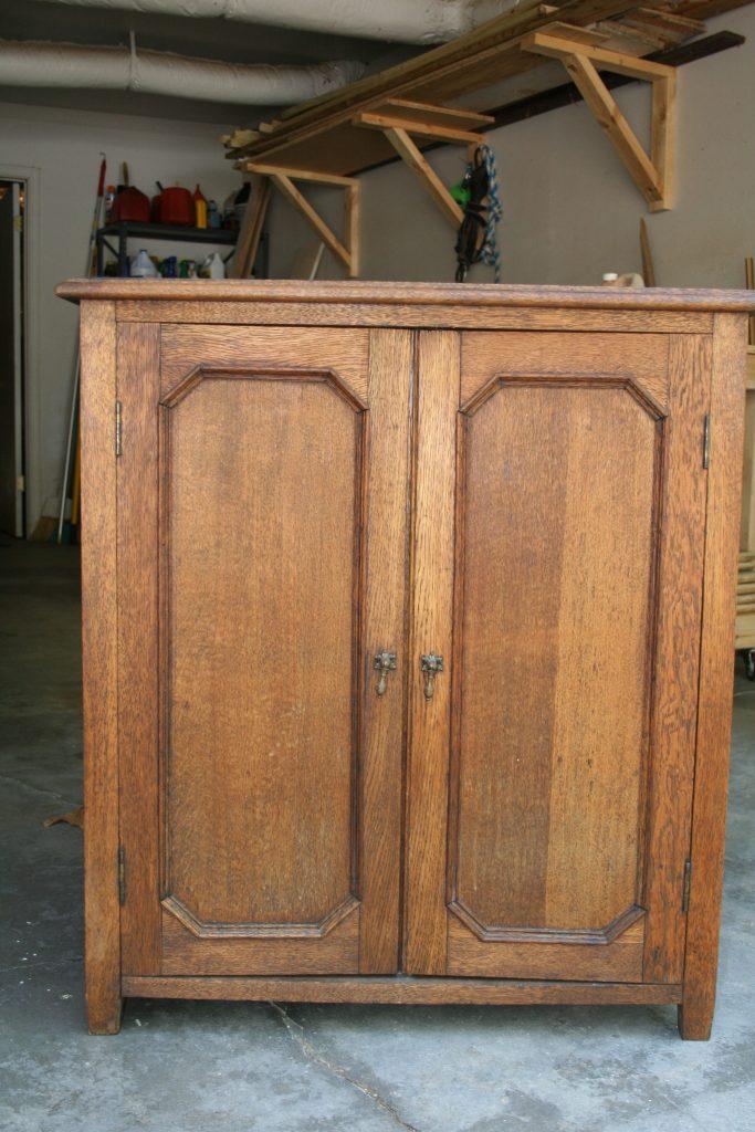 New Vanity Cabinet